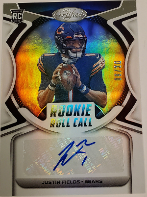 Rookie Roll Call Signatures Justin Fields
