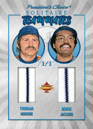 Teammates Thurman Munson, Reggie Jackson MOCK UP