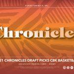 2021-22 Panini Chronicles Draft Picks Basketball