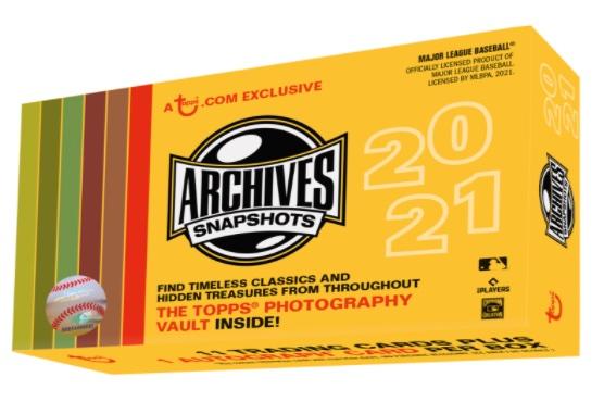 2021 Topps Archives Snapshots Baseball