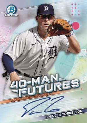 40-Man Futures Auto Spencer Torkelson MOCK UP