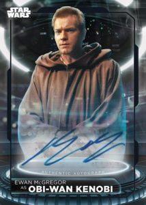 Autographs Ewan McGregor as Obi Wan Kenobi MOCK UP