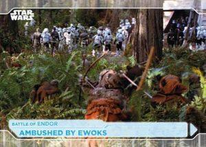 Base Battle of Endor Ambushed by Ewoks MOCK UP