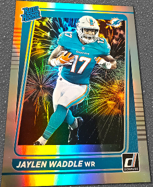 Base Rated Rookie Jaylen Waddle