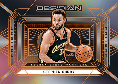 Eclipse Elctric Etch Orange Stephen Curry MOCK UP