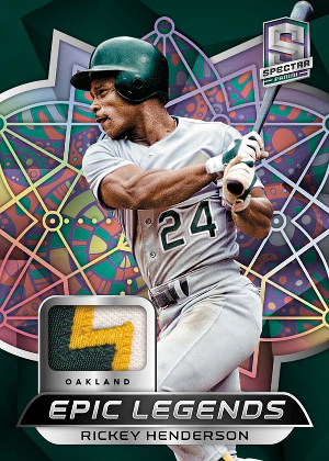 Epic Legends Materials Psychedellic Rickey Henderson MOCK UP