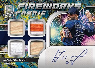 Fireworks Fabric Signatures Splatter Jose Altuve MOCK UP
