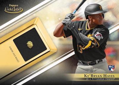 Gold Prospect Relic KeBryan Hayes MOCK UP