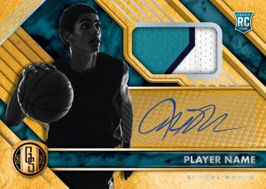 Gold Standard Rookie Jersey Auto MOCK UP
