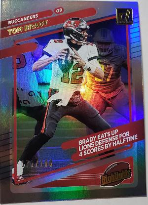 Highlights Holo Tom Brady