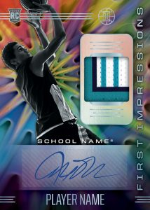 Illusions First Impressions Jersey Auto MOCK UP