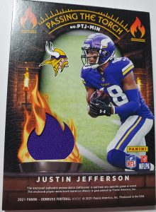 Passing the Torch Jersey Back Justin Jefferson