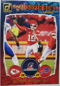 Road to the Super Bowl Conference Championship Patrick Mahomes II