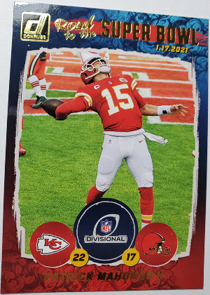 Road to the Super Bowl Division Round Patrick Mahomes II