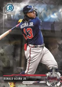 Sterling Recollection Black Atomic Refractor Ronald Acuna MOCK UP