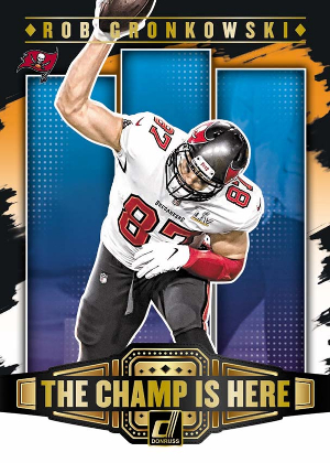 The Champ is Here Rob Gronkowski MOCK UP