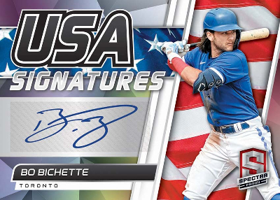 USA Signatures Bo Bichette MOCK UP
