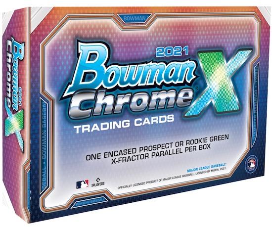 2021 Bowman Chrome X