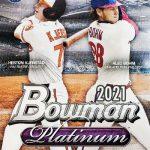 2021 Bowman Platinum Baseball