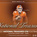 2021 Panini National Treasures Collegiate Football
