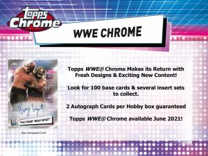 2021 Topps Chrome WWE