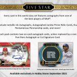 2021 Topps Five Star Baseball