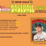 2021 Topps Heritage Minor Leagues
