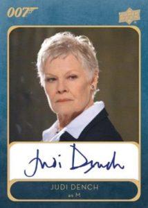 Auto Judi Dench as M MOCK UP