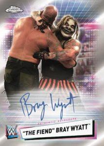 Base Auto The Fiend Bray Wyatt MOCK UP