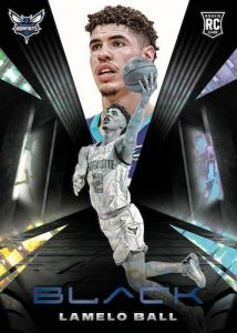 Base Rookie Variation Platinum LaMelo Ball MOCK UP
