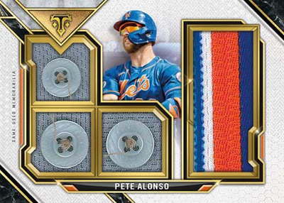 Buttoned Up Relic Pete Alonso MOCK UP