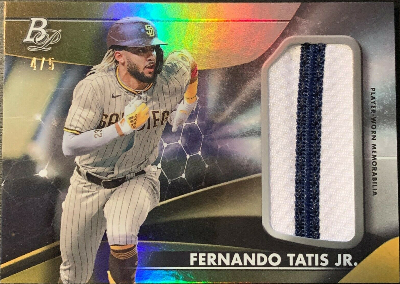 Platinum Patches Fernando Tatis Jr