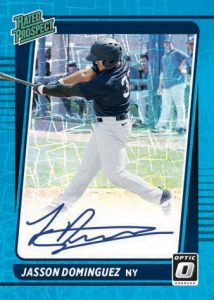 Rated Prospect Signatures Carolina-Blue Jasson Dominguez MOCK UP