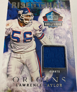 Rise to the Hall Relics Lawrence Taylor