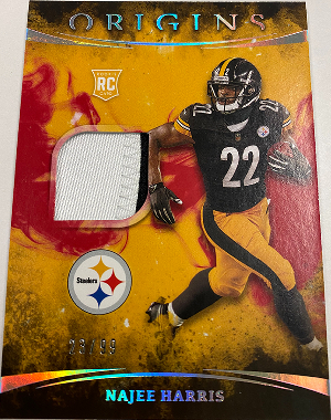 Rookie Patches Red Najee Harris